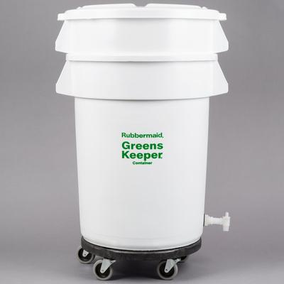 Rubbermaid FG263600WHT Brute GreensKeeper 32 Gallon Veget...