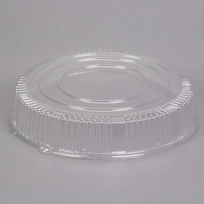 "WNA A18PETDM Checkmate 18"" Clear PET Plastic Round High D..."