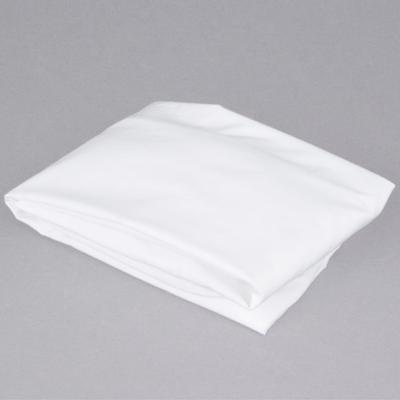 "L.A. Baby 100% White Cotton 24"" x 38"" Fitted Crib Sheet"