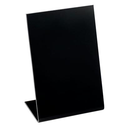 "CAL-MIL 216-13 Classic 8 1/2"" x 11"" Black Write-On Easel"