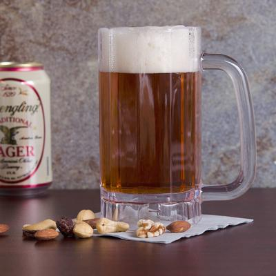 GET Enterprises GET 00086 SAN Plastic 16 oz. Beer Mug - 2...