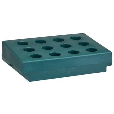 Cambro CR12192 Cutlery Rack Only - 33x22 3/4x9 Granite Green