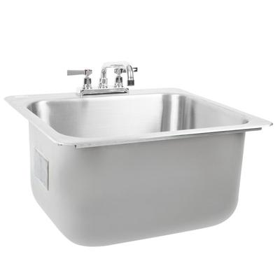Advance Tabco DI-1-2012 Drop In Stainless Steel Sink - 20...