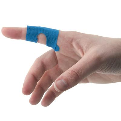 Medique Blue Woven Adhesive Knuckle Bandage - 50/Box