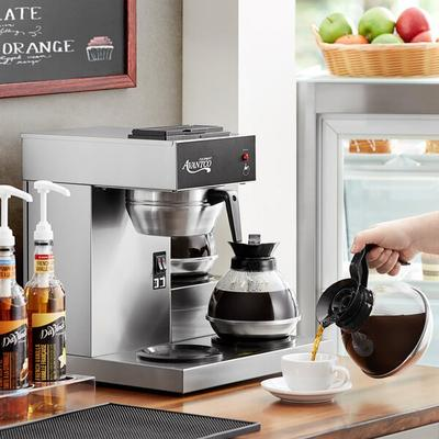 Avantco C30 Pourover Commercial Coffee Maker with 3 Warme...