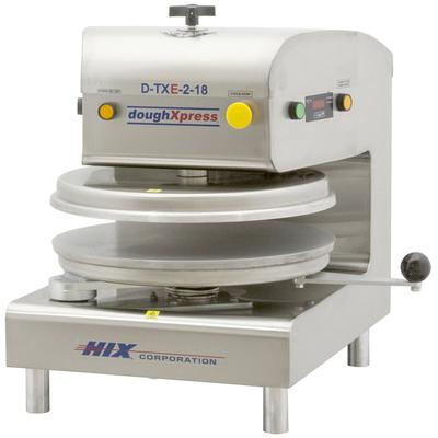 Doughxpress D-TXE-2-18 Dual Heat Round Electromechanical ...