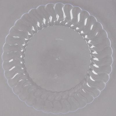 "Fineline Settings Flairware 207-CL 7 1/2"" Clear Plastic P..."