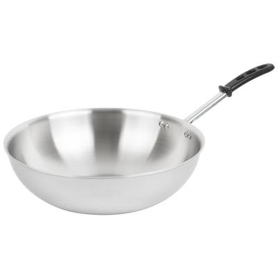 """Vollrath 77754 Tribute 14"""" Stir Fry Pan with TriVent Sili..."""
