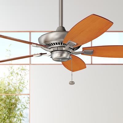 Kichler NI Traditional / Classic Brushed Nickel Canfield 44 Inch 5 Blade Fan