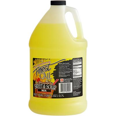 Finest Call Sweet and Sour Drink Mixer 1 Gallon