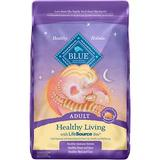 Blue Buffalo Healthy Living Chicken & Brown Rice Recipe Adult Dry Cat Food, 15-lb bag