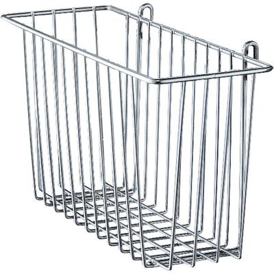 Metro H212C Chrome Storage Basket for Wire Shelving 17 3/...