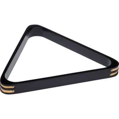 Cuestix 8 Ball Rack with Brass Corners RK8B Color: Midnight