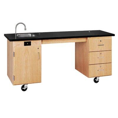 Diversified Woodcrafts ADA Compatible Mobile Science Lab Station
