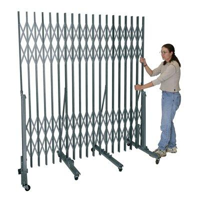 Hallowell Superior Portable Security Gate - For 6'W to 9'W Opening