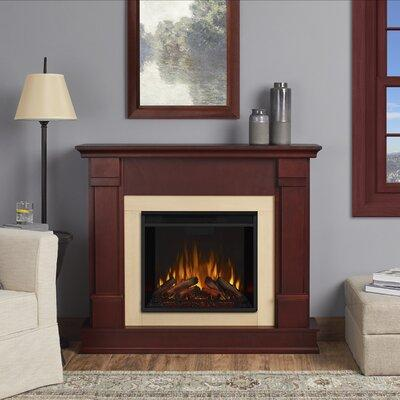 Real Flame Silverton Electric Fireplace G8600E Finish: Da...