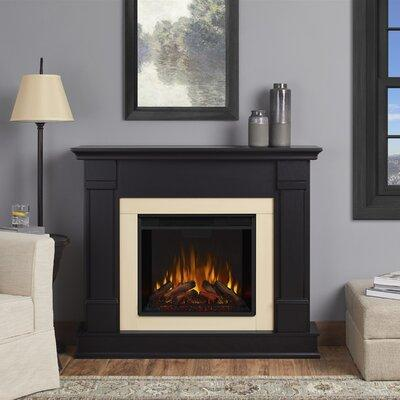 Real Flame Silverton Electric Fireplace G8600E Finish: Black