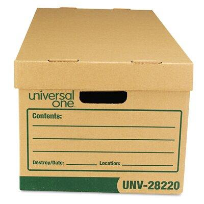 "Universal Products Recycled Record Storage Box Letter 12""..."