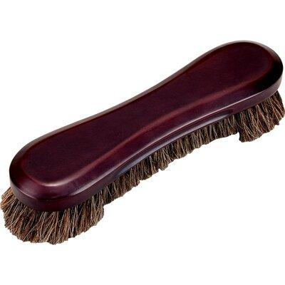 Cuestix Deluxe Horse Hair Table Brush TBD Color: Wine