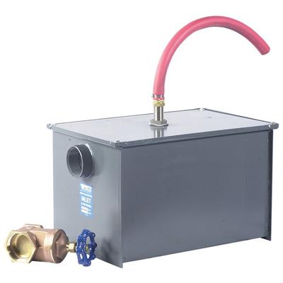 Watt WD-25-A 50 lb. Grease Trap with Partially Automatic ...