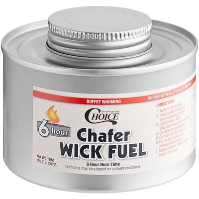 FancyHeat Choice 6 Hour Wick Chafing Dish Fuel with Safet...