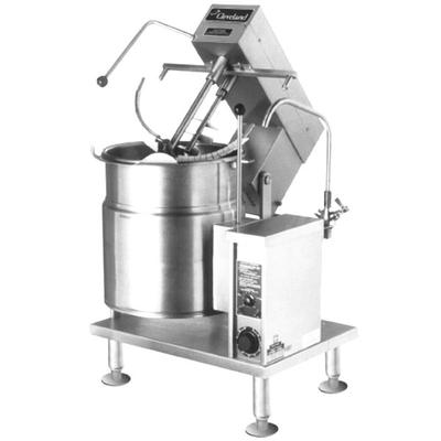 Cleveland MKET-20-T 20 Gallon Tilting 2/3 Steam Jacketed ...