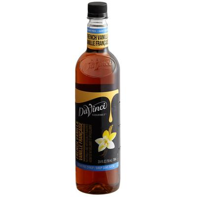 Da Vinci Systems Gourmet 750 mL French Vanilla Sugar Free...