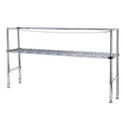 "Metro KR365DC Six Keg Rack with One Dunnage Rack - 60"" x ..."