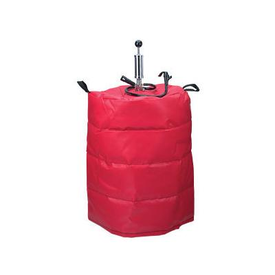 Micro Matic KJ-01 Red Vinyl Keg Jacket for Half Kegs