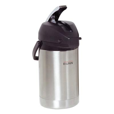 Bunn 32125.0100 84 oz Airpot, Lever Action, Stainless Liner