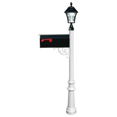 Qual Arc Lewiston Mailbox with Post Included LPST-800-E1 ...