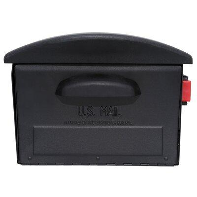 Gibraltar Mailboxes Locking Post Mounted Mailbox RSKB