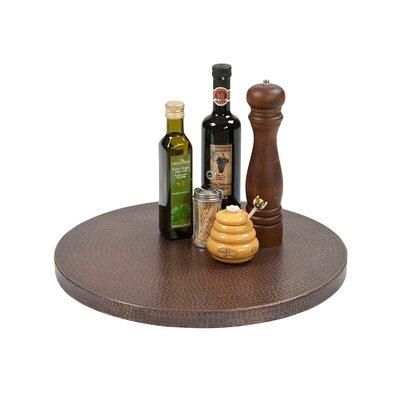 Premier Copper Products Hand Hammered Copper Lazy Susan L...