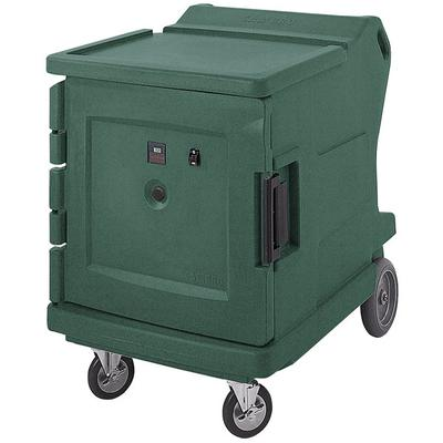 Cambro CMBHC1826LC192 Granite Green Camtherm Electric Food Holding Cabinet Low Profile - Hot / Cold