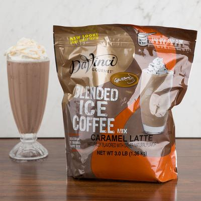 DaVinci Gourmet Ready to Use Caramel Latte Mix - 3 lb.