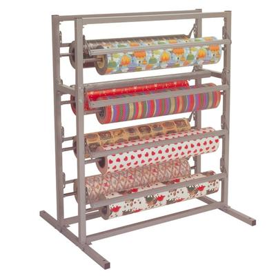 "Bulman T375-36 36"" Twin Tower 8 Roll Paper Rack"