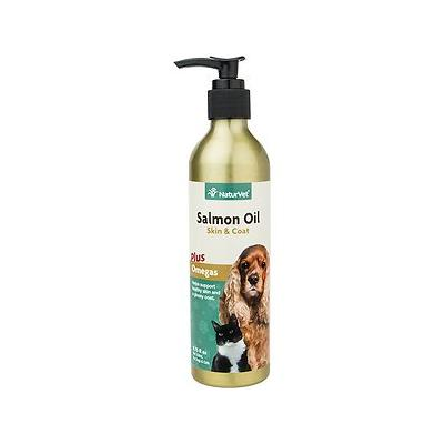 NaturVet Unscented Salmon Oil for Dogs & Cats, 8.75-oz bottle