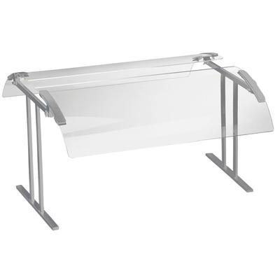 "CAL-MIL 2027-4-74 49 1/4"" Silver Double-Face Tabletop Sne..."