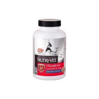 Nutri-Vet Hip & Joint Advanced Strength Dog Chewables, 90 count