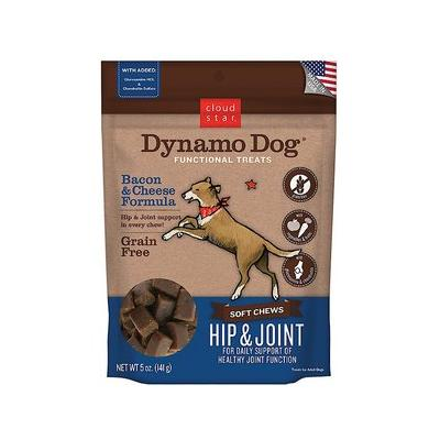 Cloud Star Dynamo Dog Hip & Joint Soft Chews Bacon & Chee...
