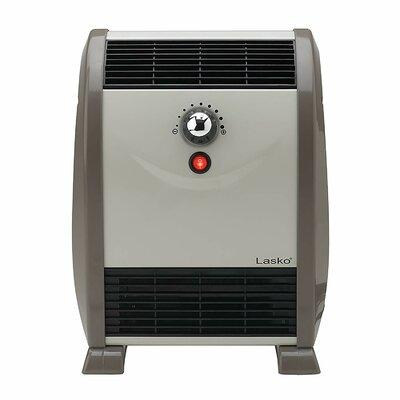 Lasko 1,500 Watt Portable Electric Fan Compact Heater wit...