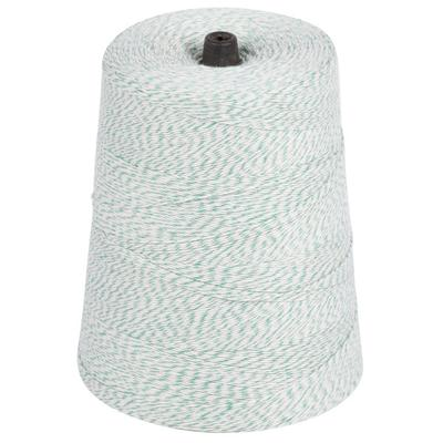 Green and White Variegated Cotton Baker's Twine 2 lb. Cone
