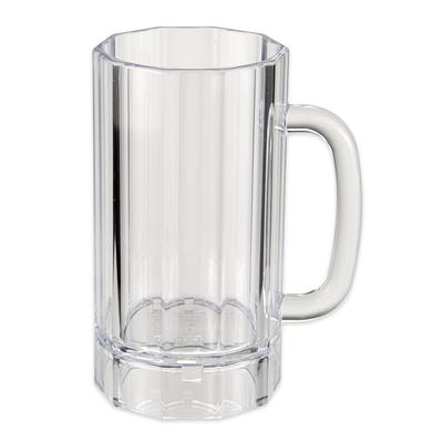 GET 00087-PC-CL 6.25 Plastic Beer Mug w/ 20-oz Capacity