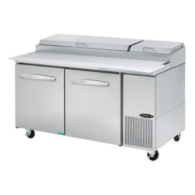 Kool-It KPT-67-2 67 Pizza Prep Table w/ Refrigerated Base...