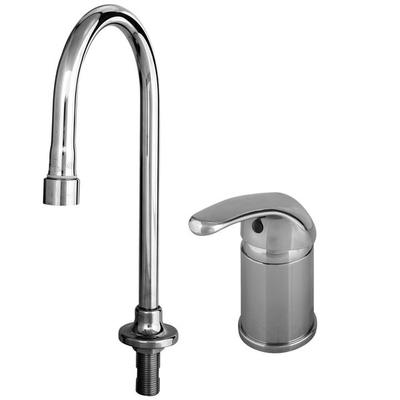 T&S B-2742-LH Vandal Resistant Side Mount Faucet with Sup...