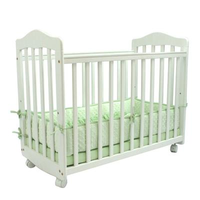 "L.A. Baby CW-35-W 37"" x 19 1/2"" x 26"" White Original Beds..."