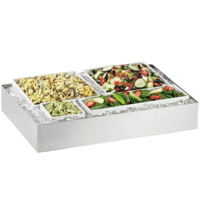 CAL-MIL 1398-55 Cater Choice System Stainless Steel Ice H...