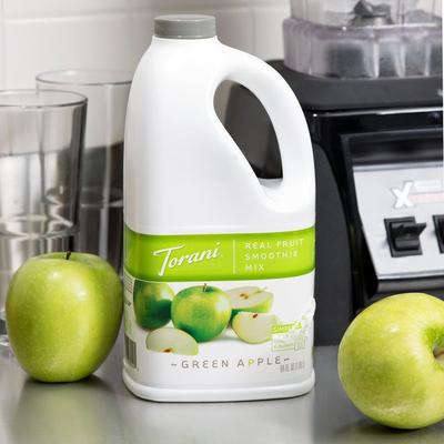 Torani 64 oz. Green Apple Fruit Smoothie Mix