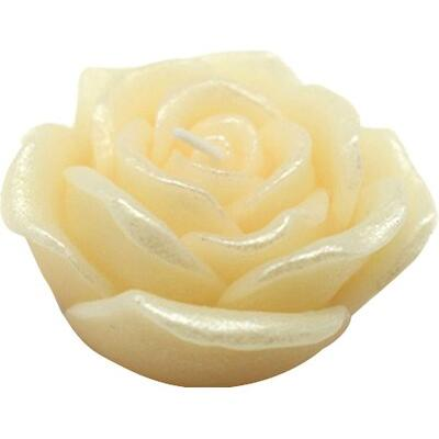 Jeco Inc. Rose Floating Candle CFZ Color: Ivory, Quantity: Set of 144