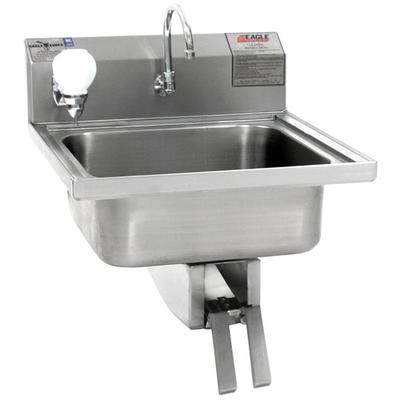 Eagle Group W1916 Stainless Steel Wall Mount Hand Sink wi...
